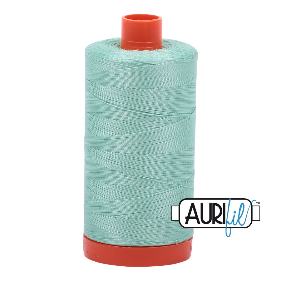 Col. #2835 Medium Mint - Aurifil 50 Weight