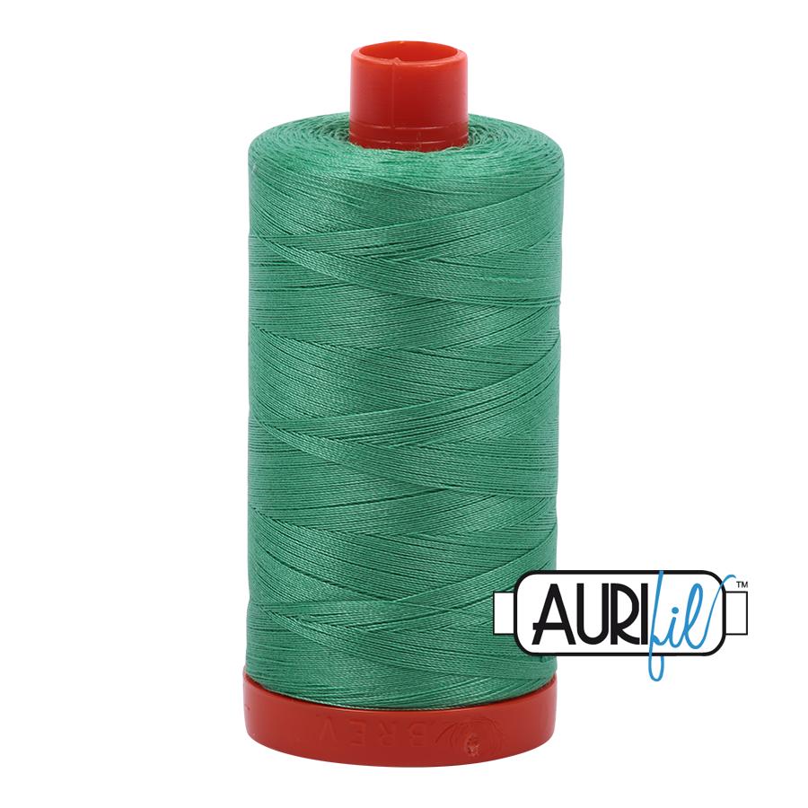 Col. #2860 Light Emerald - Aurifil 50 Weight