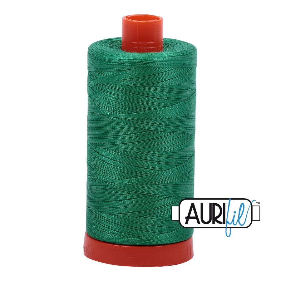 Col. #2865 Emerald - Aurifil 50 Weight