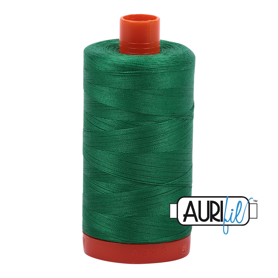 Col. #2870 Green - Aurifil 50 Weight