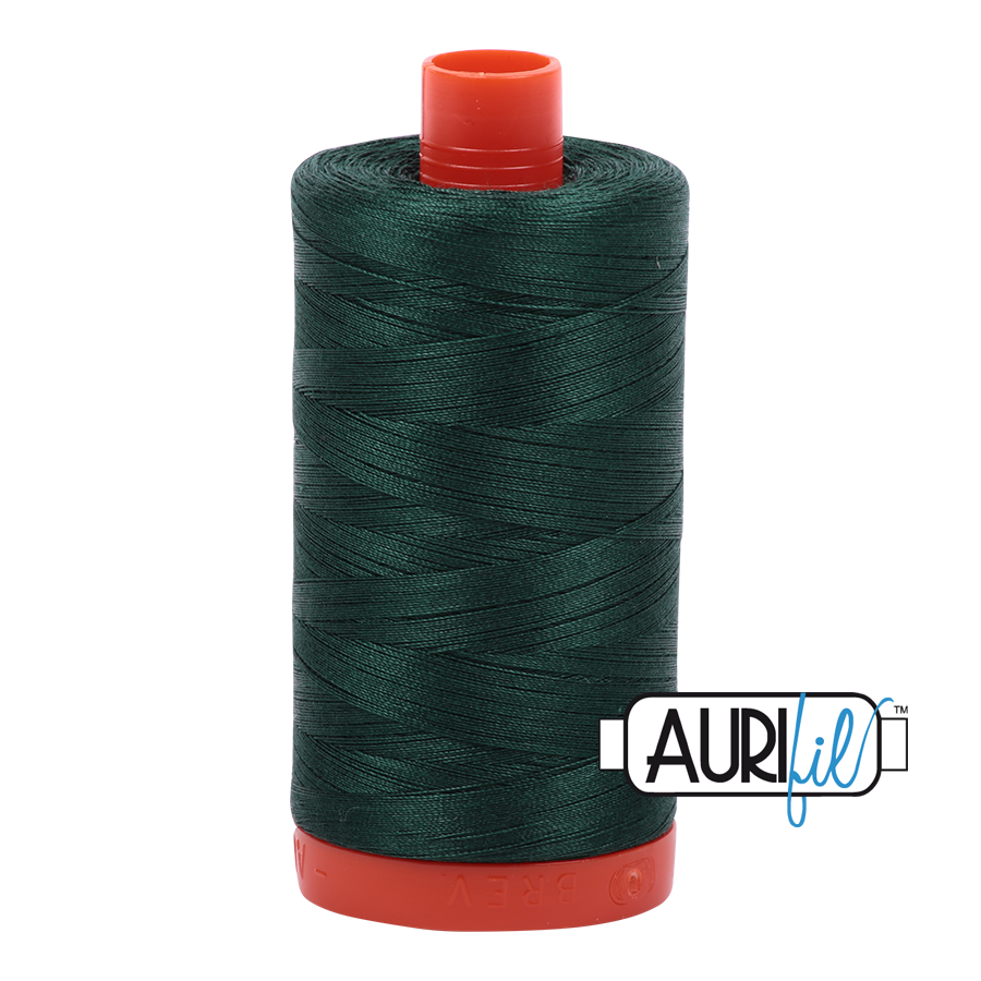 Col. #2885 Medium Spruce - Aurifil 50 Weight