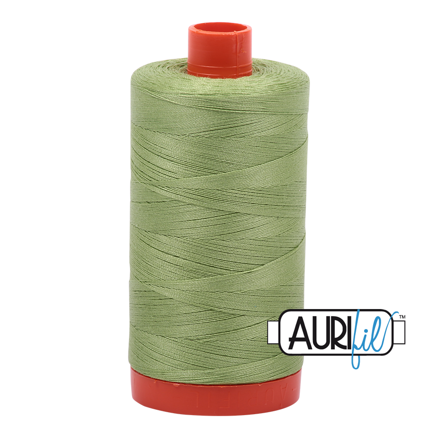 Col. #2882 Light Fern - Aurifil 50 Weight