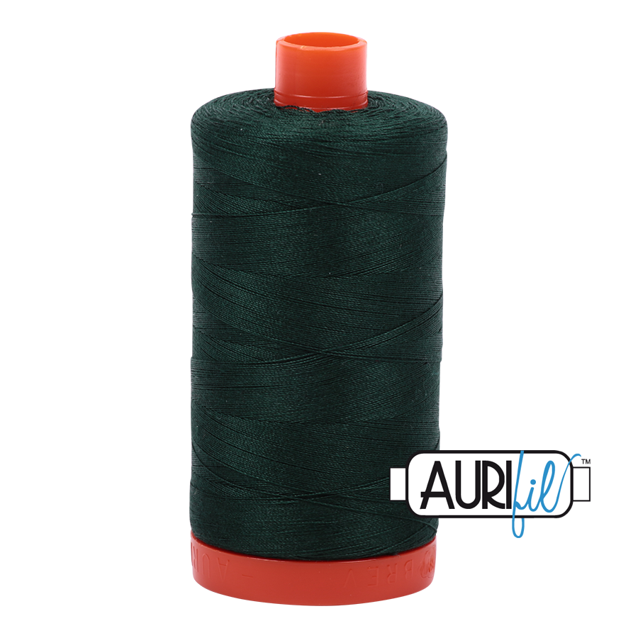 Col. #4026 Forest Green - Aurifil 50 Weight