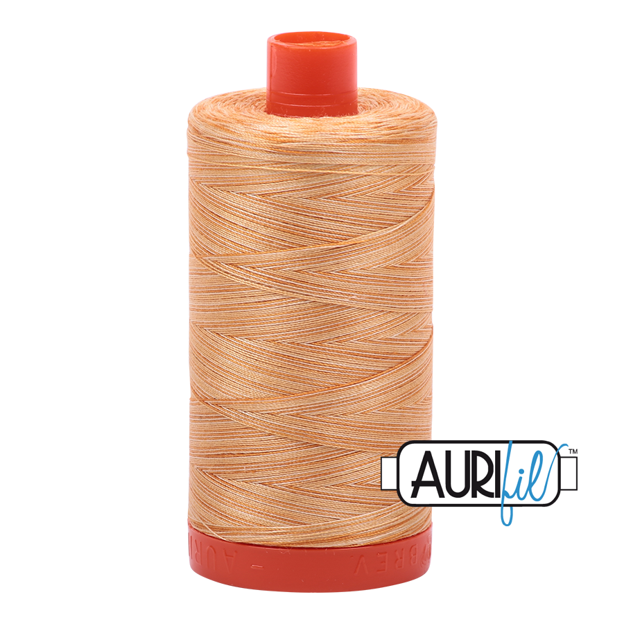 Col. #4150 Creme Brule - Aurifil 50 Weight