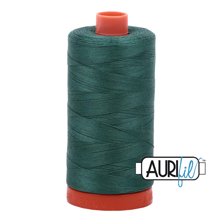 Col. #4129 Turf Green - Aurifil 50 Weight