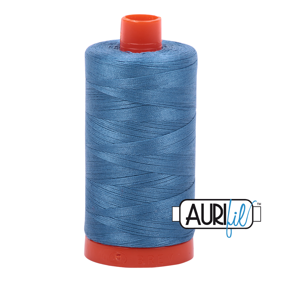 Col. #4140 Wedgewood - Aurifil 50 Weight