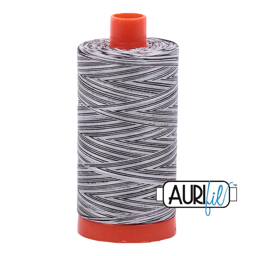 Col. #4652 Licorice Twist - Aurifil 50 Weight