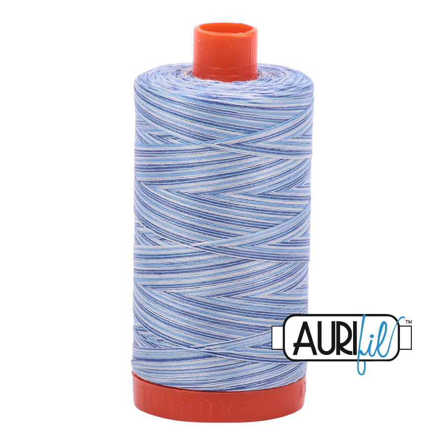 Col. #4655 Storm at Sea - Aurifil 50 Weight