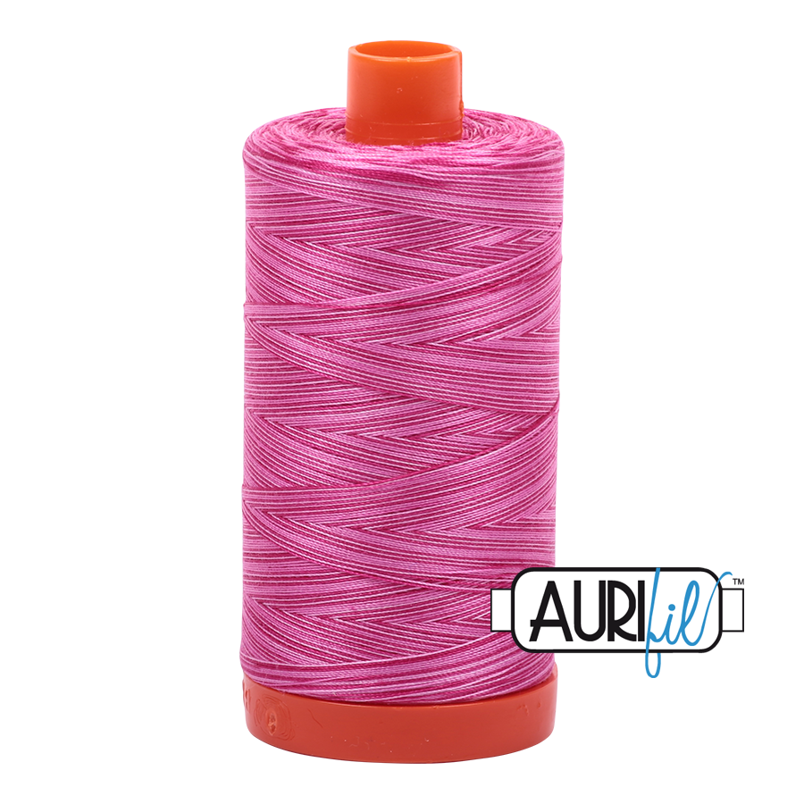 Col. #4660 Pink Taffy - Aurifil 50 Weight