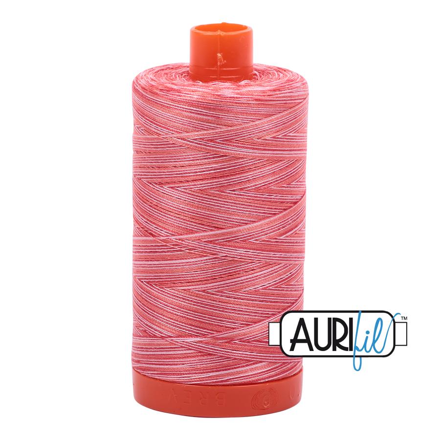 Col. #4668 Strawberry Parfait - Aurifil 50 Weight