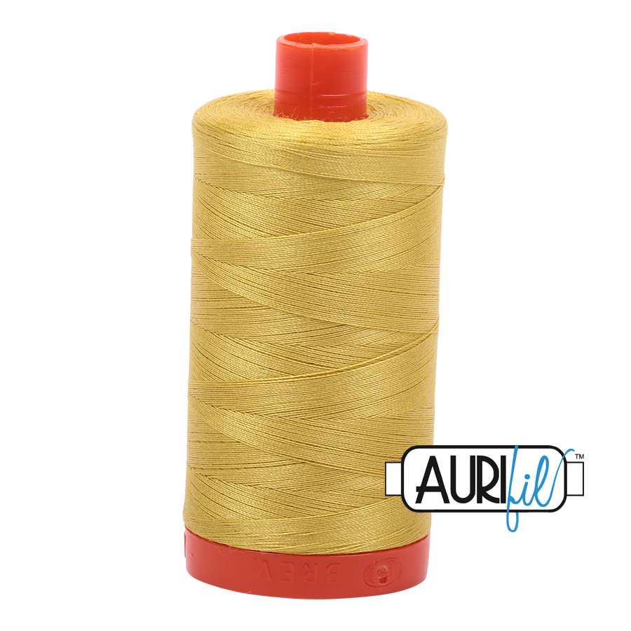 Col. #5015 Gold Yellow - Aurifil 50 Weight