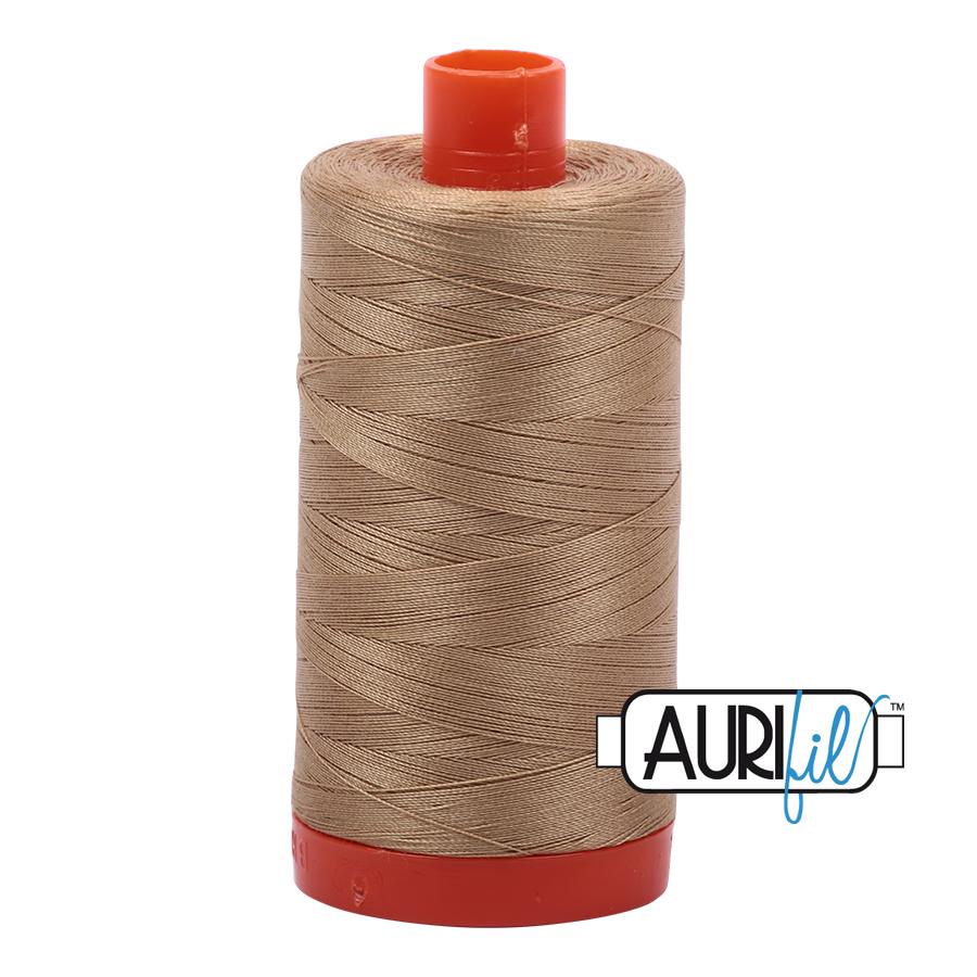 Col. #5010 Blond Beige - Aurifil 50 Weight