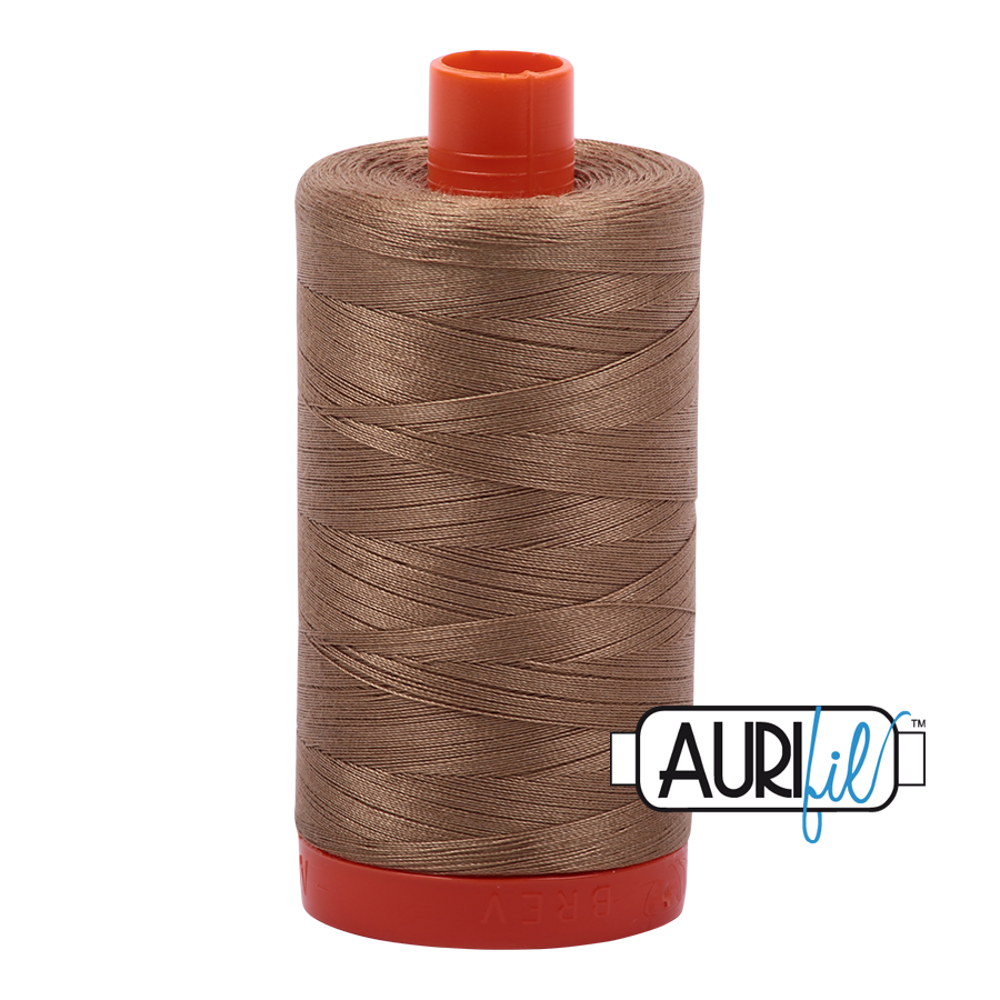 Col. #6010 Toast - Aurifil 50 Weight