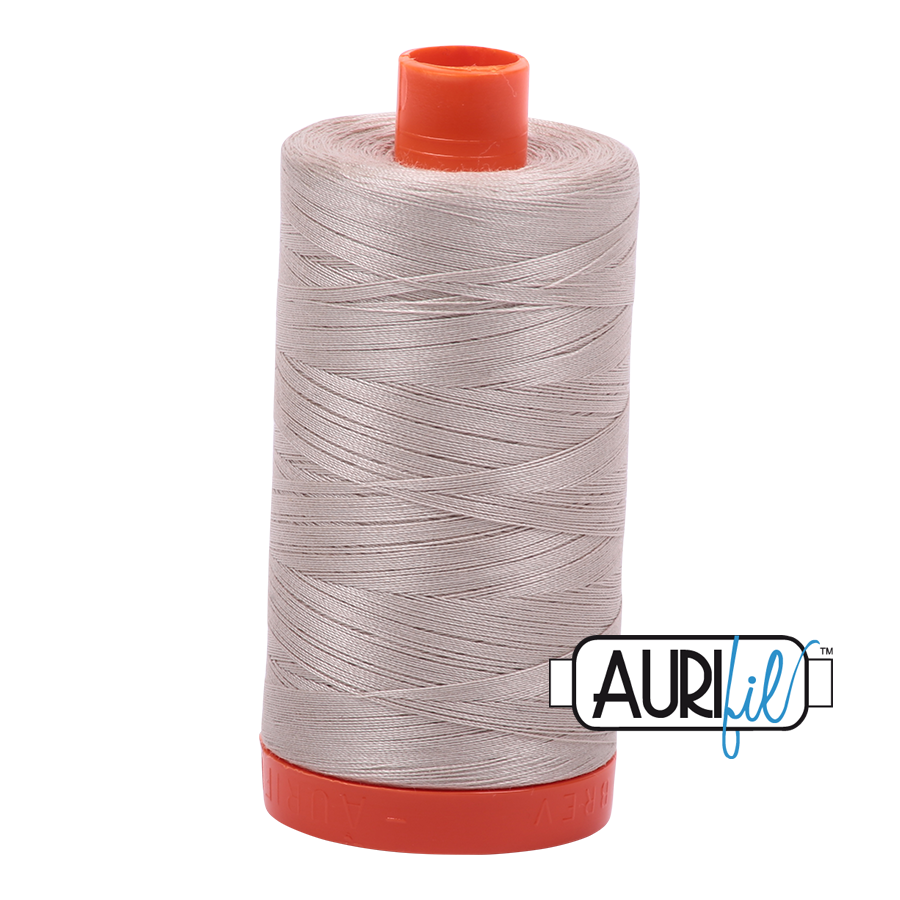 Col. #6711 Pewter - Aurifil 50 Weight