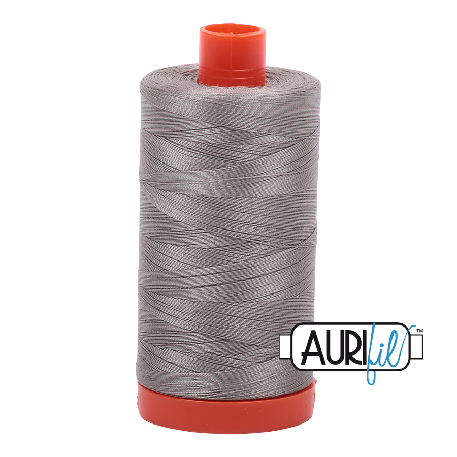 Col. #6732 Earl Gray - Aurifil 50 Weight