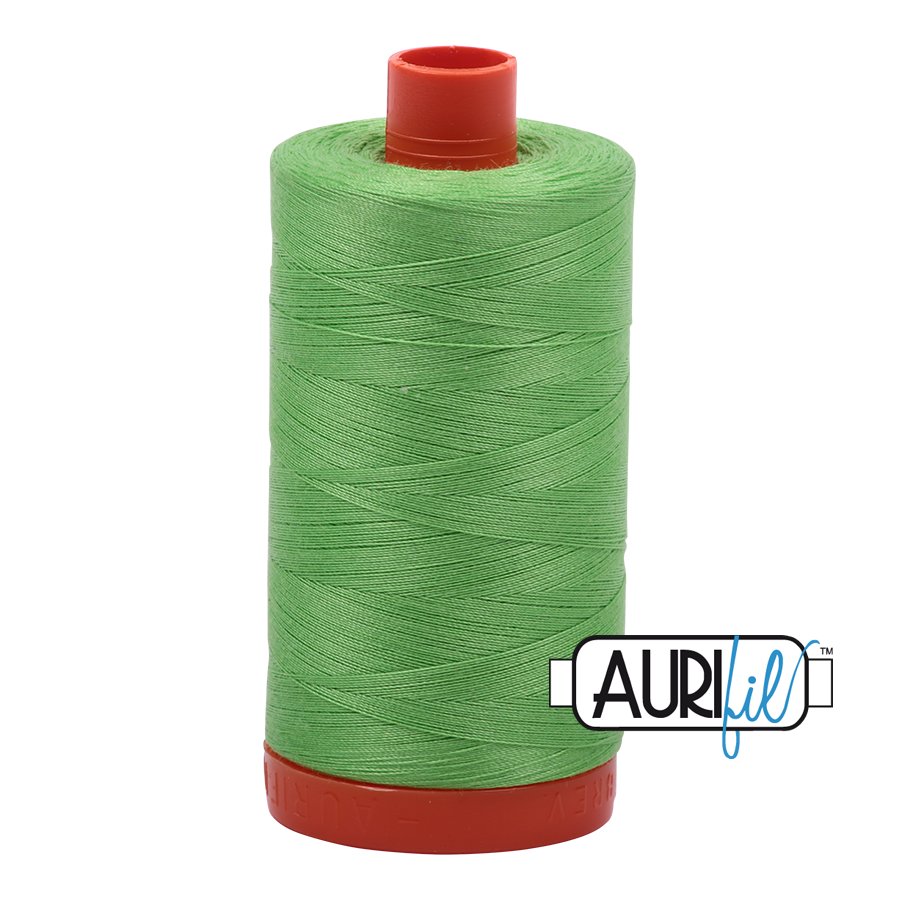 Col. #6737 Shamrock Green - Aurifil 50 Weight