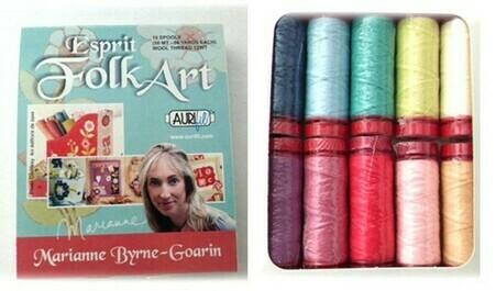 Aurifil Wool Thread 10 spool box set