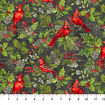 Scarlet Feather 1/4 metre