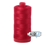 Col. #2250 Red - Aurifil 12 Weight