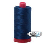 Col. #2783 Medium Delft Blue Aurifil 12 Weight
