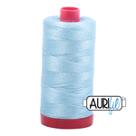 Col. #2805 Light Grey Turquoise Aurifil 12 Weight