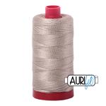 Col. #5011 Rope Beige - Aurifil 12 Weight