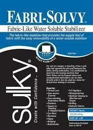 Fabri-Solvy 1 yard package