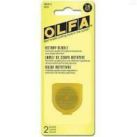 28mm Rotary Blades Olfa - 2 pack