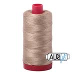 Col.# 2325 Linen - Aurifil 12 Weight