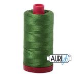 Aurifil 12 Weight Col.#5018 Dark Grass Green