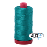 Aurifil 12 Weight Col. #4093 Jade