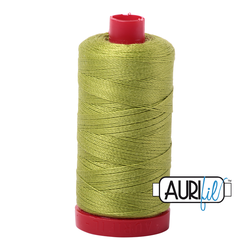 Aurifil 12 Weight Col. #1231 Spring Green