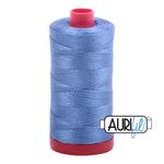 Aurifil 12 weight Col. #1128 Light Blue Violet