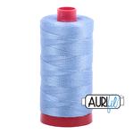 Aurifil 12 weight Col. #2720 Light Delft Blue