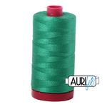 Aurifil 12 weight Col. #2865 - Emerald