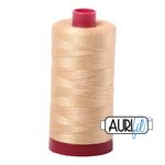 Aurifil 12 Weight Col. #6001 - Light Caramel