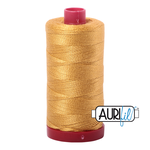 Aurifil 12 Weight Col. #2132 - Tarnished Gold