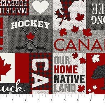 My Canada Fabric