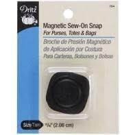Magnetic Sew-On Snap