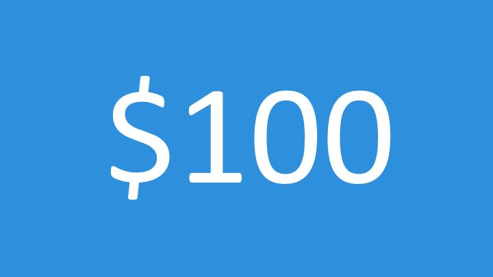 $100 Impact