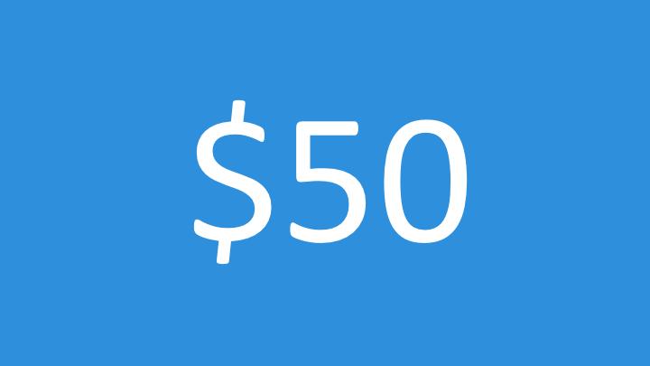 $50 Impact