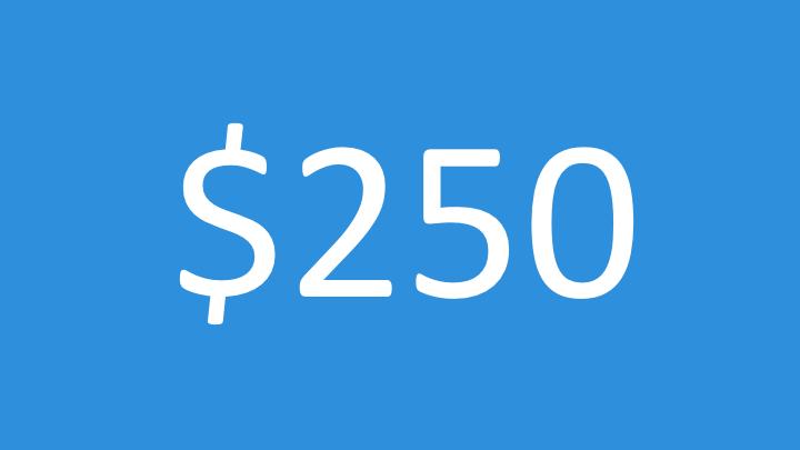 $250 Impact