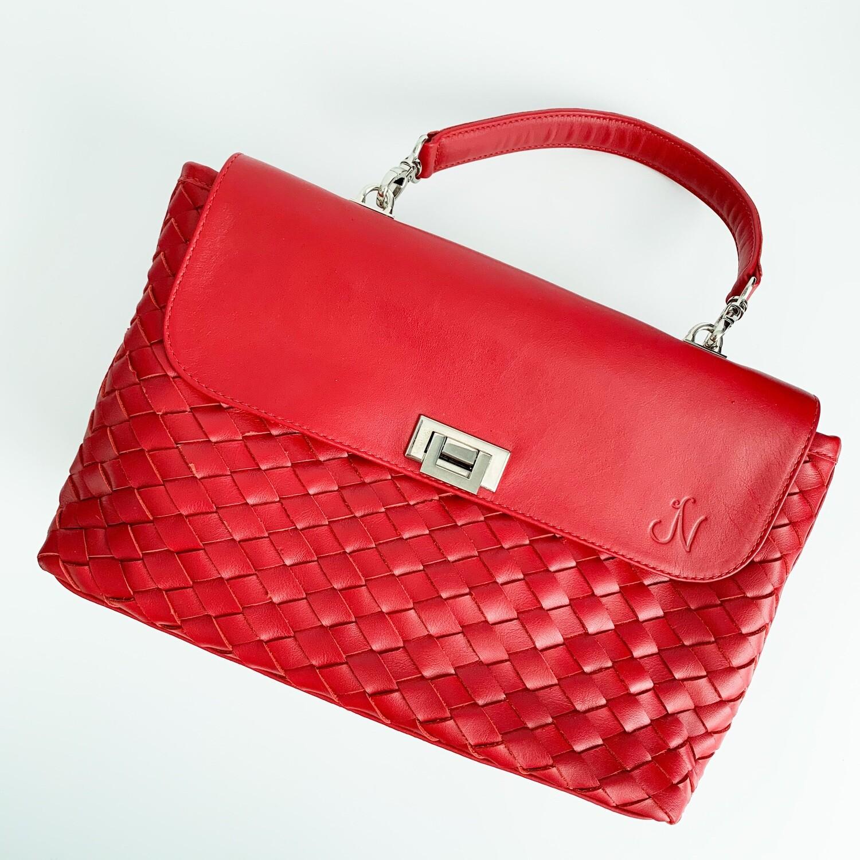 Suki Woven Shoulder Bag