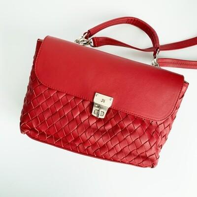 Classic Suki Woven Shoulder Bag