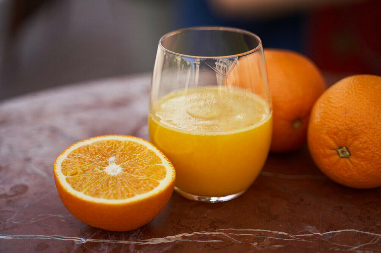 Свежевыжатый апельсиновый сок, 250 мл