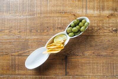 Цитрусовые оливки «Чупадедос» с начос