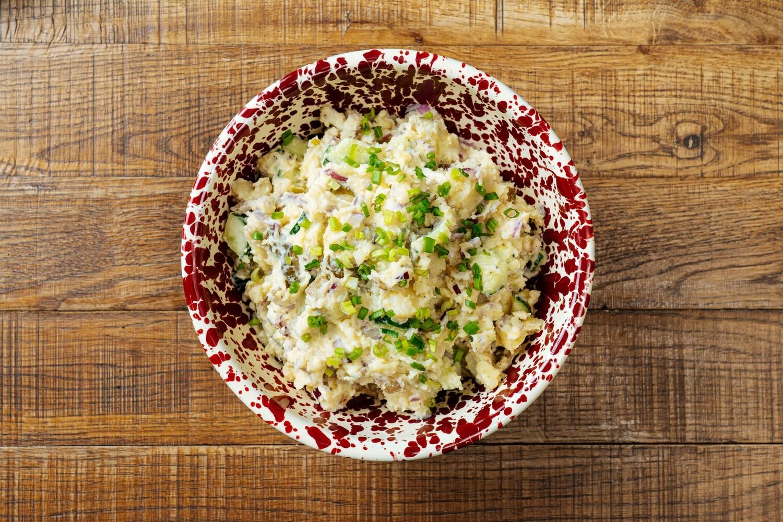 Немецкий картофельный салат (1 кг) - предзаказ за 12 часов