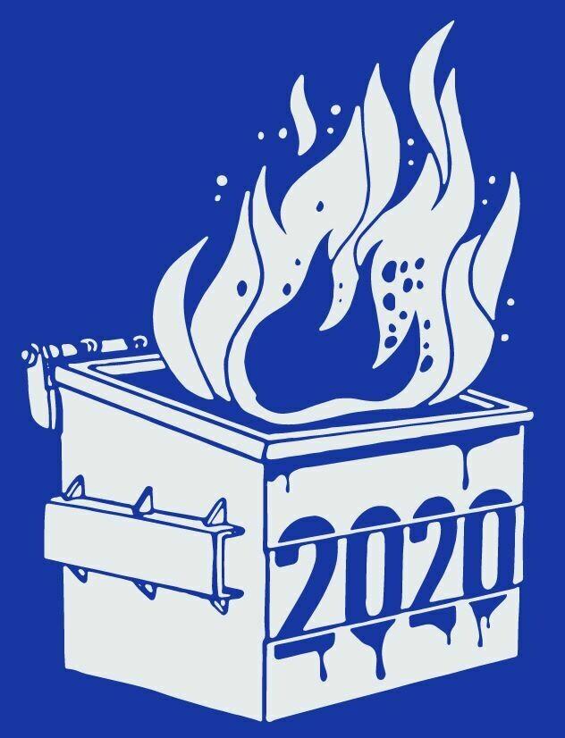 2020 Dumpster Fire Novelty T-Shirt