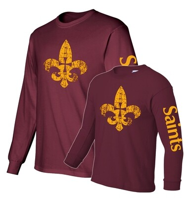 St. James Saints Long Sleeve T-Shirt - Adult / Youth