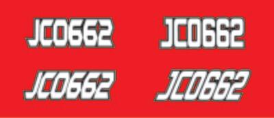 2017 Polaris Rush XCR 600 - Sled Numbers